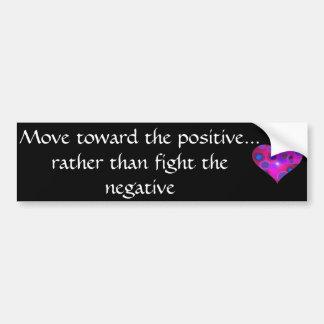 Positive Message Bumper Sticker