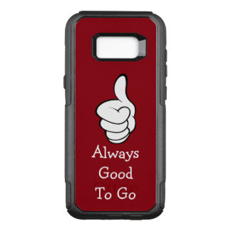 Positive Message Thumbs Up OtterBox Commuter Samsung Galaxy S8+ Case