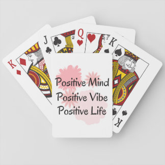 Positive Mind, Positive Vibe, Positive Life Quote Card Deck