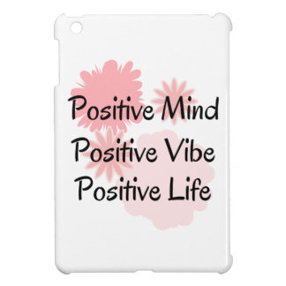 Positive Mind, Positive Vibe, Positive Life Quote iPad Mini Cover