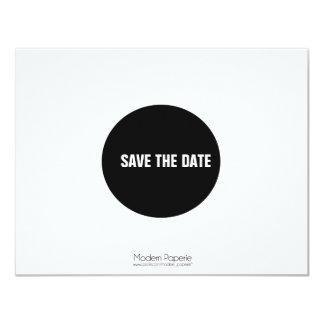 Positive & Negative Space Save-the-date Invite