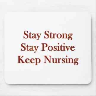 Positive Nurse Mouse Pad