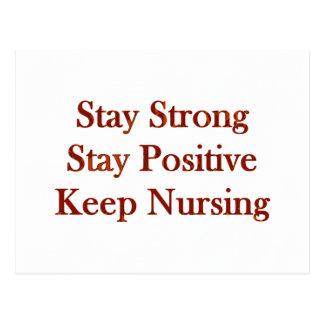 Positive Nurse Postcard