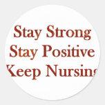 Positive Nurse Stickers