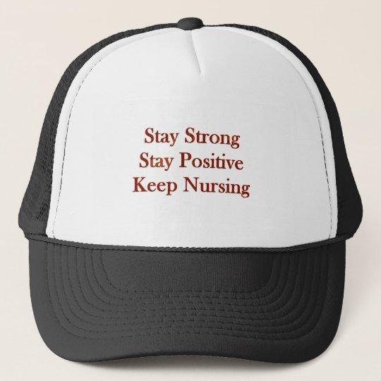 Positive Nurse Trucker Hat