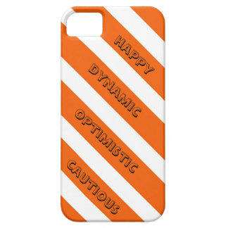 Positive Orange iPhone Case iPhone 5 Case