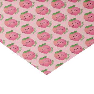 Positive Peach Pun   Peachy Tissue Paper