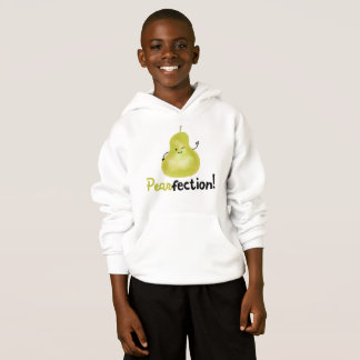 Positive Pear Pun - Pearfection Hoodie