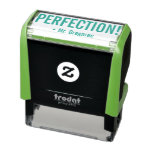 "[ Thumbnail: Positive ""Perfection!"" Marking Rubber Stamp ]"