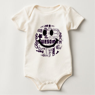 Positive qualities you have Smiley Baby Bodysuit