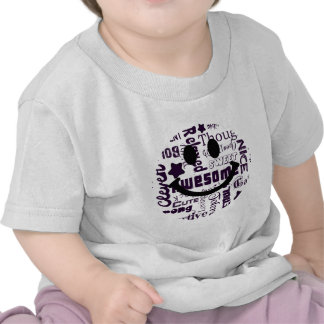 Positive qualities you have Smiley T-shirts