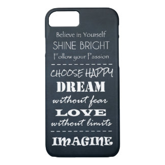 Positive Quote Affirmations iPhone 7 Case