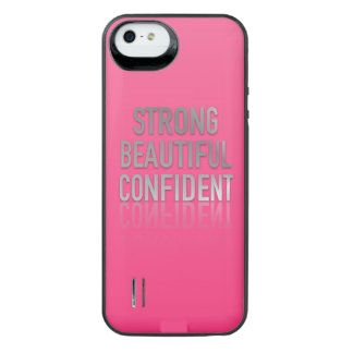 Positive Quotes  iPhone/5s Battery Case Uncommon Power Gallery™ iPhone 5 Battery Case