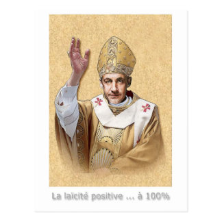 positive secularism postcard