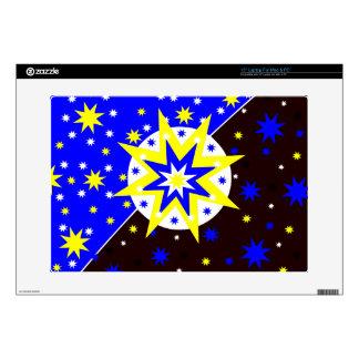 """Positive Stars Skin For 15"""" Laptop"""