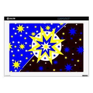 Positive Stars Skin For Laptop
