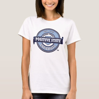 Positive State, Baby blue Signature logo T-Shirt