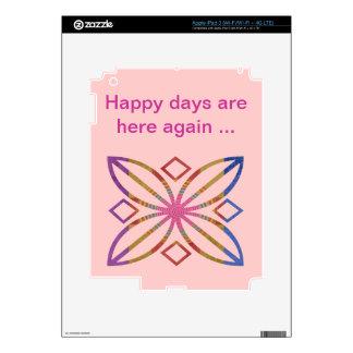 Positive Strokes - Display Happy Designs iPad 3 Skins