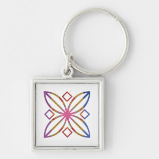 Positive Strokes - Display Happy Designs Keychain