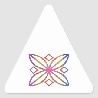 Positive Strokes - Display Happy Designs Triangle Sticker