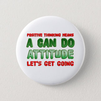 Positive Thinking Button