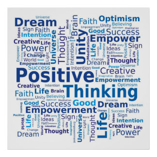 Positive Words Posters | Zazzle