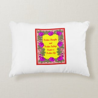 Positive Thoughts Accent Pillow