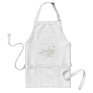 Positive Thoughts Adult Apron