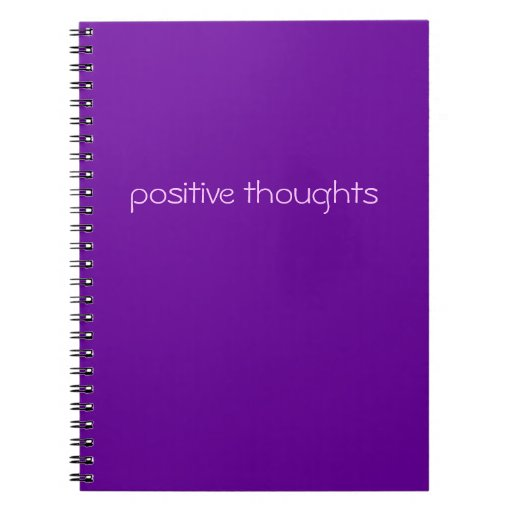 positive thoughts | funny slogan note book