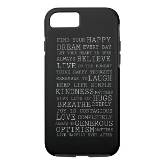Positive Thoughts iPhone 8/7 Case