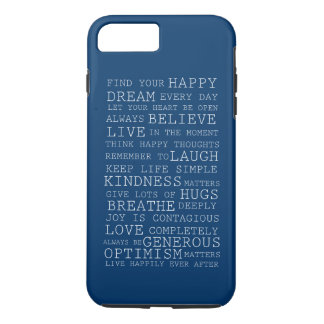 Positive Thoughts iPhone 8 Plus/7 Plus Case