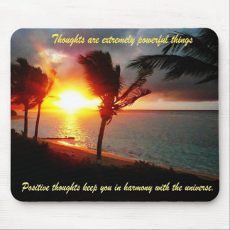 Positive Thoughts Mousepad Mouse Pad