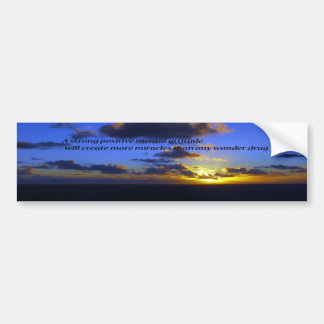 Positive Thoughts,spiritual Bumper Sticker
