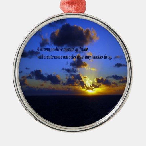 Positive Thoughts,spiritual Christmas Ornaments