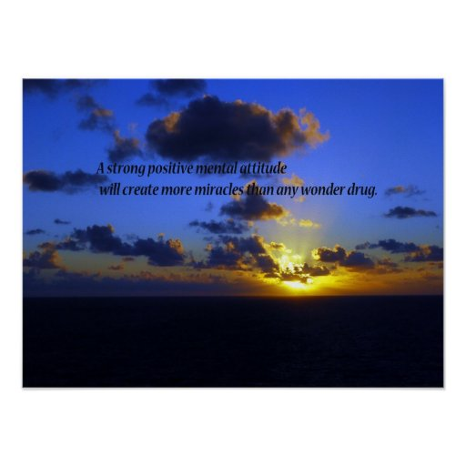 Positive Thoughts,spiritual Poster