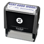 "[ Thumbnail: Positive ""Very Good Work!"" Grading Rubber Stamp ]"
