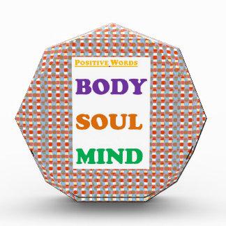 Positive words Body Soul Mind Yoga Meditation Awards