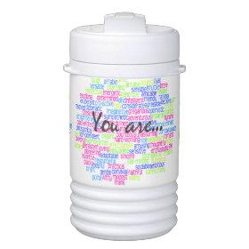 Positive Words that Describe You Igloo Beverage Dispenser