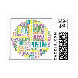 Positively Awesome! Postage Stamp