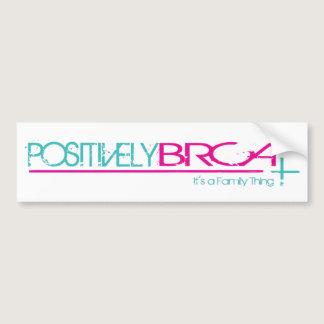 Positively BRCA Bumper Sticker