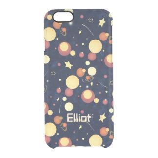 Positively Orbital cosmic nighttime sky Clear iPhone 6/6S Case