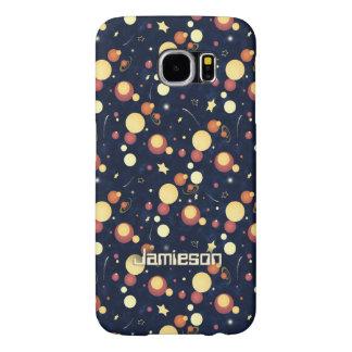 Positively Orbital cosmic nighttime sky Samsung Galaxy S6 Case