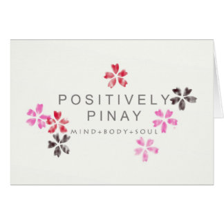 Positively Pinay - Customized Card