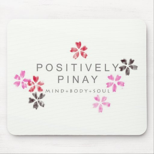 Positively Pinay - Customized Mouse Pad