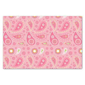 Positively Pink Paisley Tissue Paper