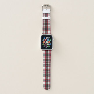 Positively Plaid Apple Watch Band