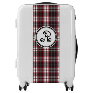 Positively Plaid Carry-On Suitcase