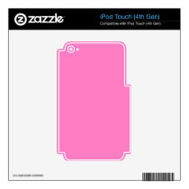 Positively Pretty Pink! Color Decal For iPod Touch 4G