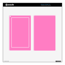 Positively Pretty Pink! Color Decal For Kindle Fire