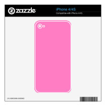 Positively Pretty Pink! Color Skin For The iPhone 4
